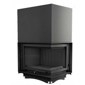 Zuzia 16-P/BS/G insert fireplace on solid fuel