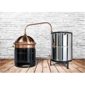 Distilling pot still Hobby 30L - with mixer - heating on gas