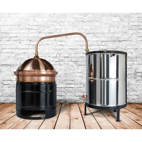 BS 30 Distilling pot still DES Hobby 30L - without mixer - heating on gas
