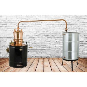 MIU 160 stabile distilling pot still DES 160 liters with mixer
