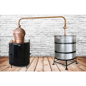 MIU 350 Premium stable boiler for brandy DES 350 litters with a mixer