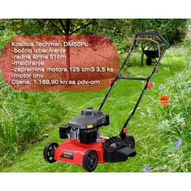 Techman DM50PL LawnMower