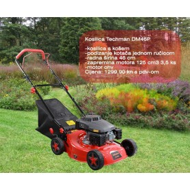 Techman DM46P LawnMower