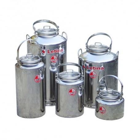 Inox posude za mlijeko/med 25l