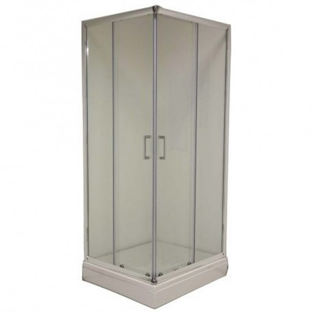 Style L8090 rectangular shower cabin with tub