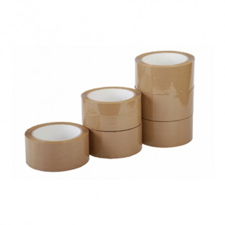 PP brown self adhesive tape sellotape 150m