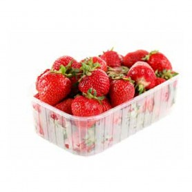 190x115x58mm PP transparent bowl for fruit and vegetables