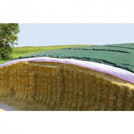 6x25m protective net for silage