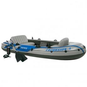 Excursion 4 rubber boat