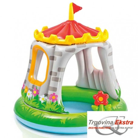 Royal Castle Baby Pool 122x122cm