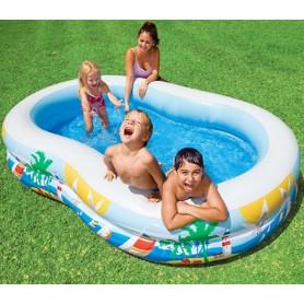 Obiteljski bazen sa labudovima - Intex