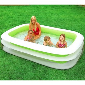 Family Swim Center Inflatable Pool 262x175cm - Intex