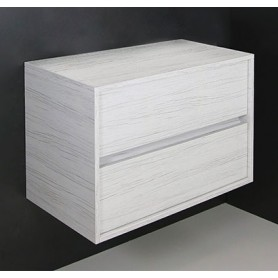 Line Whitewood bathroom cabinet