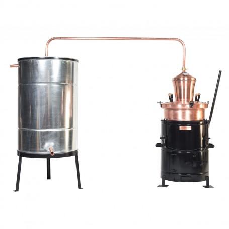 Distilling pot still Overturn 40 liters without hand stirrer