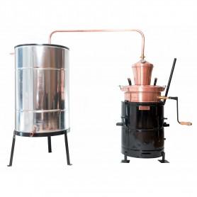 Overturn distilling pot still 60 liters