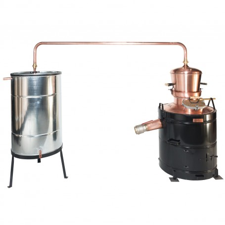 Professional distilling pot still 80 liters