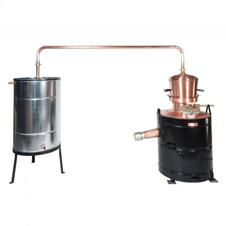 Professional distilling pot still 120 liters