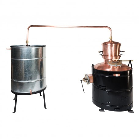 Professional distilling pot still 160 liters