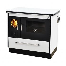 Pela štednjak na drva crno bijeli desni