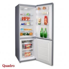 Combined refrigerator 239l Quadro DFR-3120A+ Linox