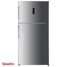 Combined refrigerator 545l Quadro DFR-551A+ Linox