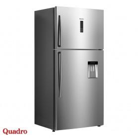 Combined refrigerator 545l Quadro DFR-551WA+ Linox