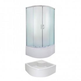 Round Shower cabin Evora 80