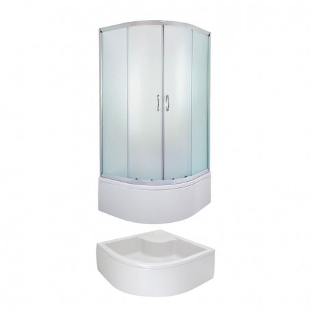 Round Shower cabin Evora 80