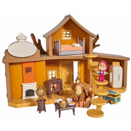 Maša i Medvjed - Medvjedova kuća Set