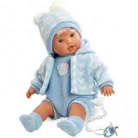 Nico beba u plavom