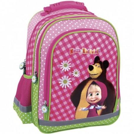 Maša i medvjed ergonomska školska torba