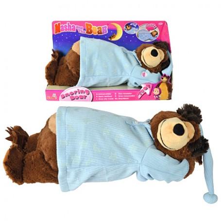 Maša i medvjed: Medvjed koji hrče plišana igračka