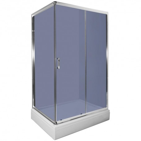 Set- Loria 7090 rectangular shower cabin with tub