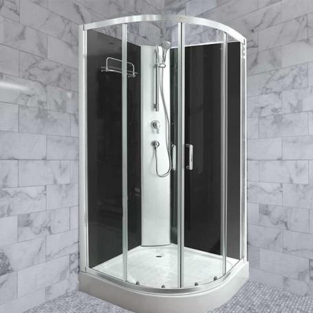 Dora - complete shower cabin with bathtub 90x90x200