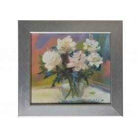 Image- White roses
