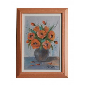 Picture flowers in the vase