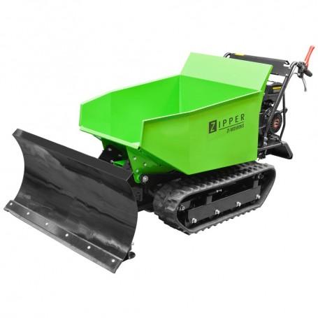 Mini dumper with hydraulics and plow ZI-MD500HS Zipper