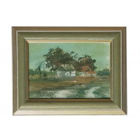 Slika- Stara kuća
