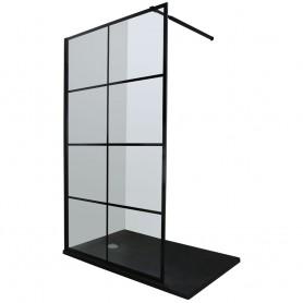 Vetro Cubo 90 shower panel