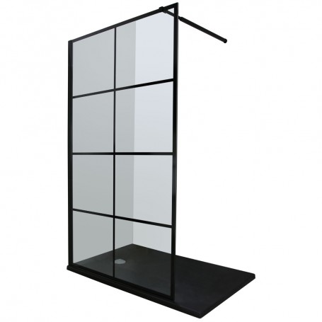 Vetro Cubo 120 shower panel