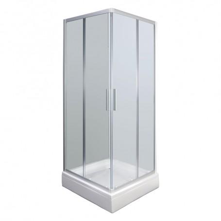 Set - Smart 80KV square shower cabin with tub