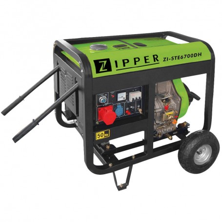 Generator diesel 6500W ZI-STE6700DH Zipper