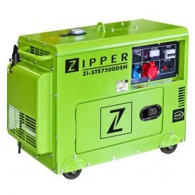 Generator diesel 6500W ZI-STE7500DSH Zipper