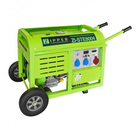 Generator 2x230V/1x400V 8000W ZI-STE8004 Zipper Maschinen