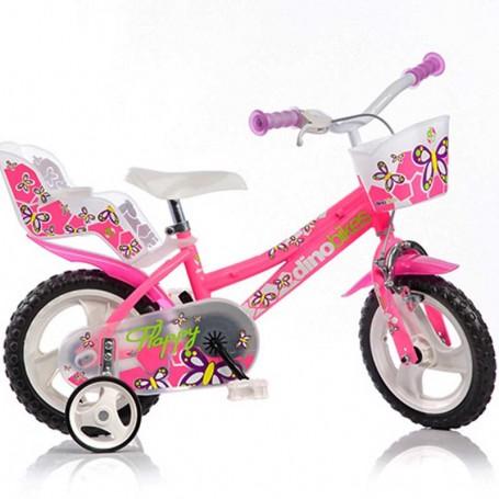 "Flappy ružičasti dječji bicikl 12"""