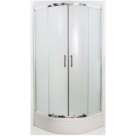 LYBRA 80R round shower cabin