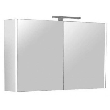 Belt 100 upper bathroom cabinet - white gloss