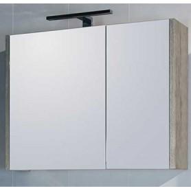 Belt 80 upper bathroom cabinet- gray mara