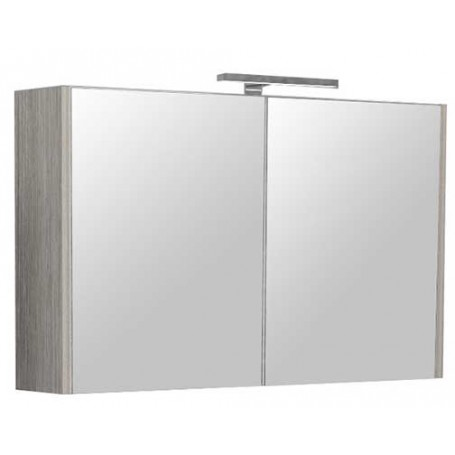 Belt 100 gornji kupaonski ormarić - grey mara