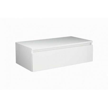 Elegant 80 donji kupaonski ormarić bijeli sjaj